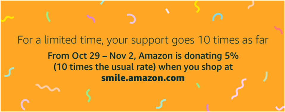 Amazon Smile Promotion