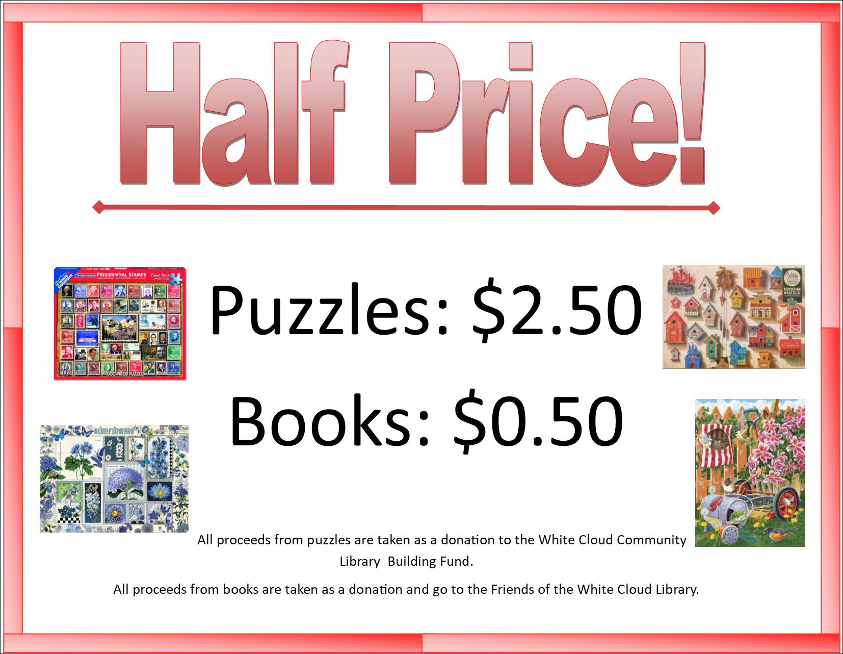 Half Price Puzzles
