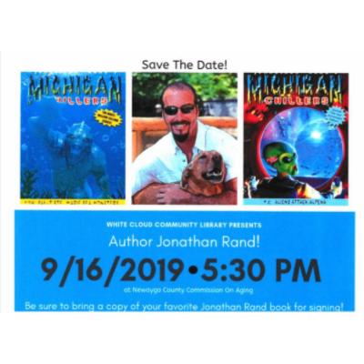 Jonathan Rand Library Visit