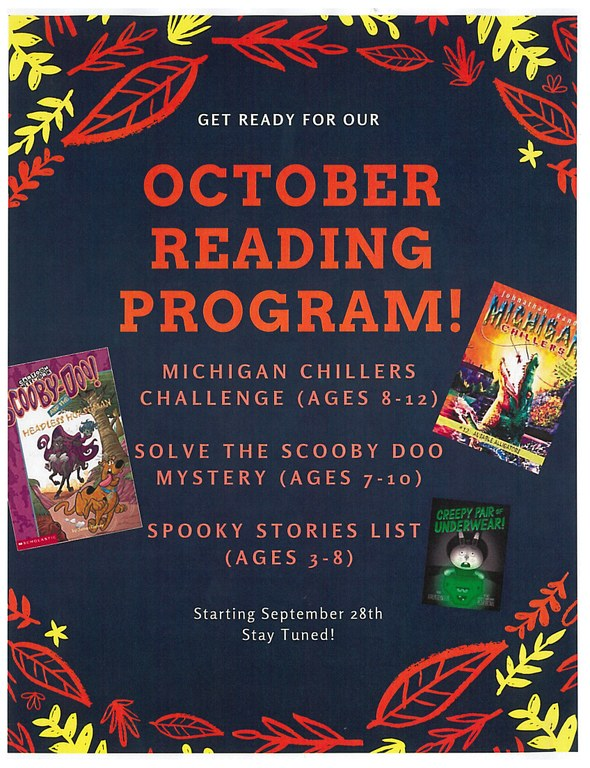 October Reading Program