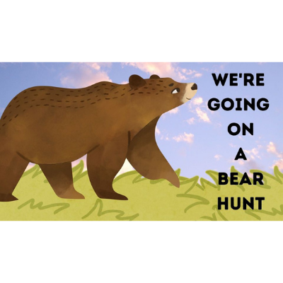 We're Going On A Bear Hunt Interactive Trail